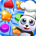 Panda Kitchen - Cookie Match 3 icon