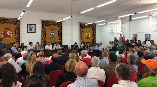 Acuerdo total en el Pleno contra la descarga de mineral de Alquife
