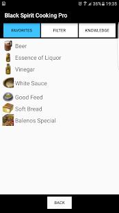 Black Spirit Cooking Pro
