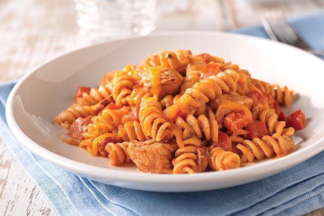 Fiesta Chicken Pasta Recipe