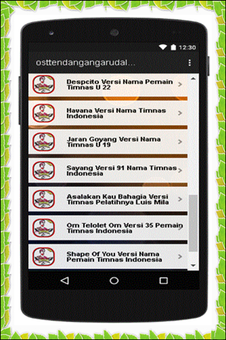 Ost Tendangan Garuda Lengkap 1.0 screenshots 4