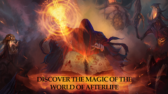 Afterlife: RPG Clicker CCG- screenshot thumbnail
