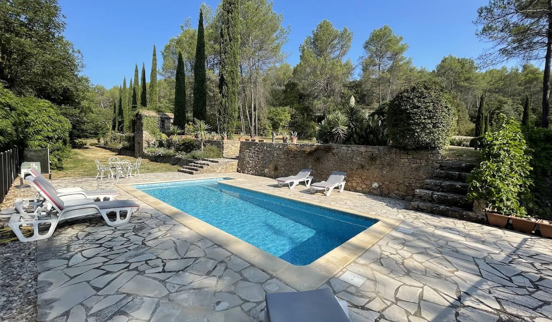 Maison avec piscine et jardin Entrecasteaux