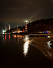 "Photo: ""NightLightHouse""  This time I was not addicted to the moon, but to this lighthouse at river Elbe.  #hamburg #hamburgphotographers #longexposurephotography #longexposure #nightphotography #nightscapes #nightshot #lighthouse #river #elbe #reflection #reflectionweek"