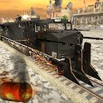 WW2 Army Train Driving War Shooting Train Games Icon