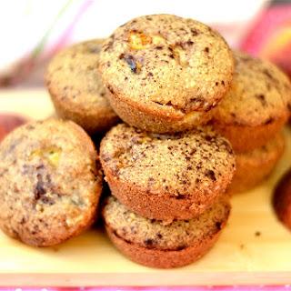Peach Cobbler Muffins- Paleo and Gluten-Free.