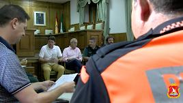 Reunión de seguridad en la que se ha acordado la incorporación de dos agentes.