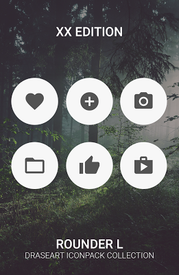 Rounder L - icon pack - screenshot