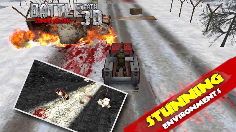 Скриншот BATTLE PATH 3D- ZOMBIE EDITION
