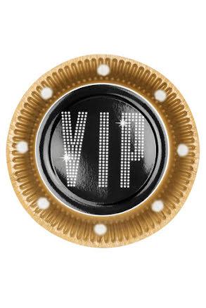 Tallrik VIP, 6st.
