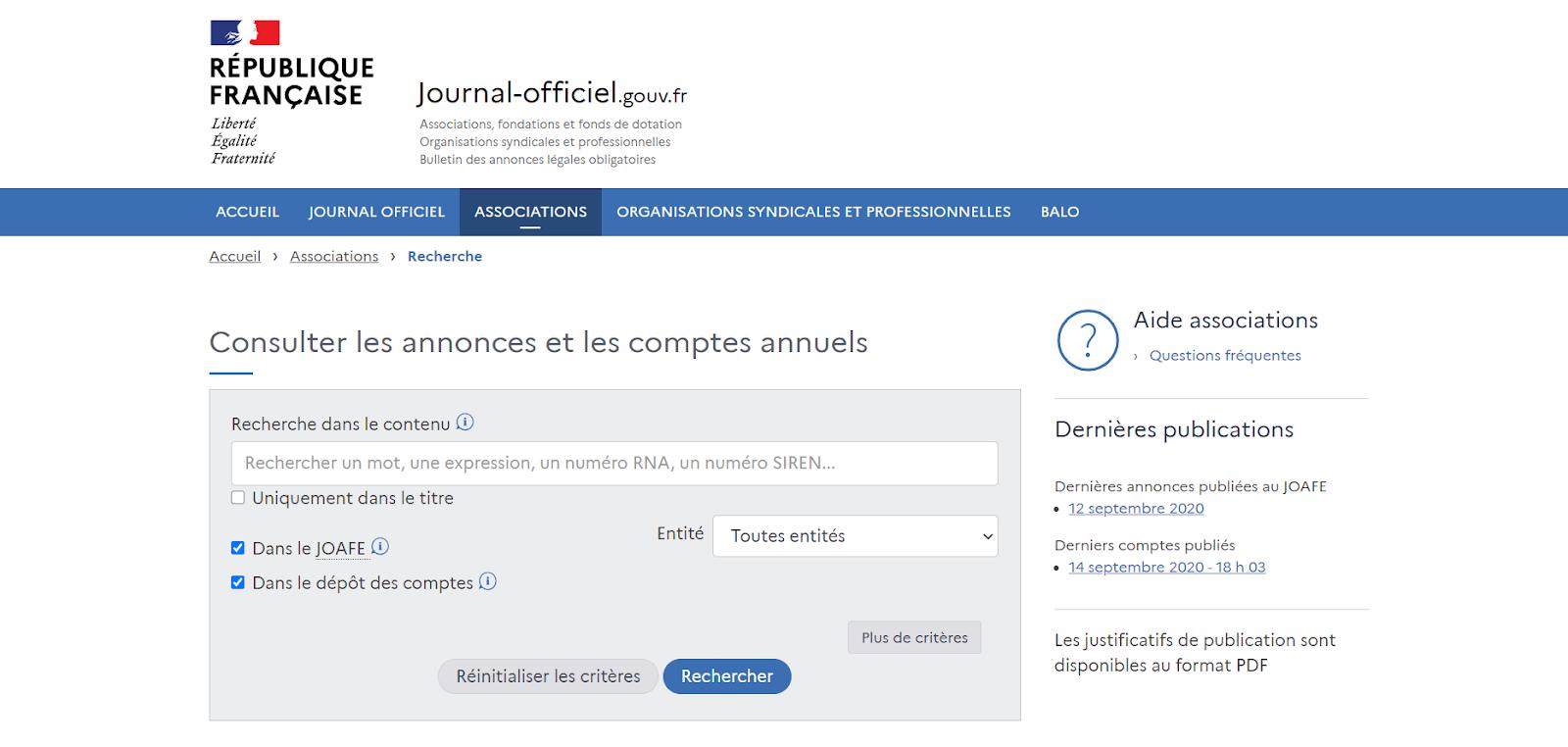 Site-officiel-Journal-Officiel-Associations