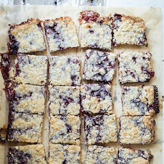 Jam Crumb Bars from Fast and Easy Five Ingredient Recipes