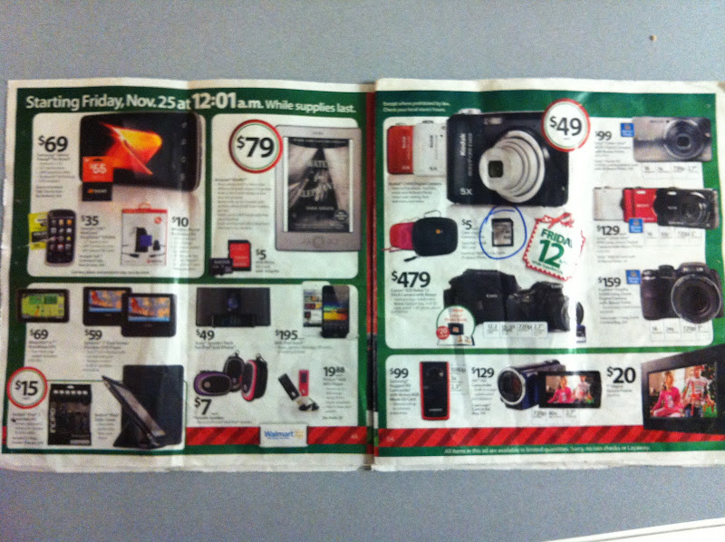 Photo: Most of the electronics won't become available until midnight.