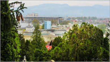 Photo: Cimitirul Turda-Veche - Panorame spre Zona Industriala - 2017.04.13