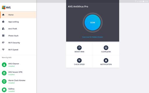 Tablet AntiVirus Security PRO screenshot 1