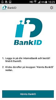 BankID säkerhetsapp screenshot 00
