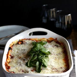 Ravioli and Spinach Lasagna Recipe