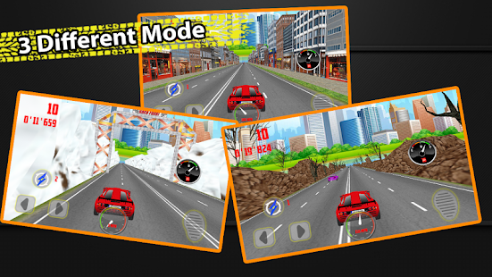 City Chase Racing 3D - náhled