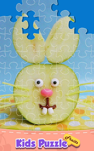 Funny Fruit Jigsaw Puzzle Game