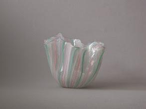 Photo: Handkerchief (Fazzoletto) vase. Attributed to Venini