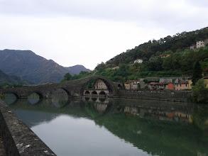 Photo: Ponte della Maddalena, between Borgo a Mozzano and Chifenti