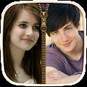 Couple Photo Zipper LockScreen icon