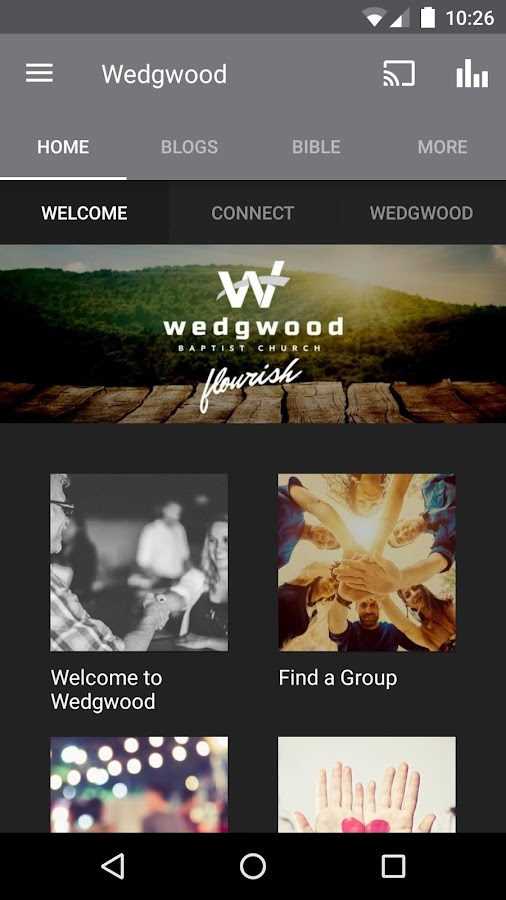 Wedgwood Baptist Church- screenshot
