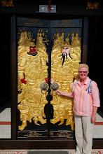 Photo: Temple door in Koh Samui