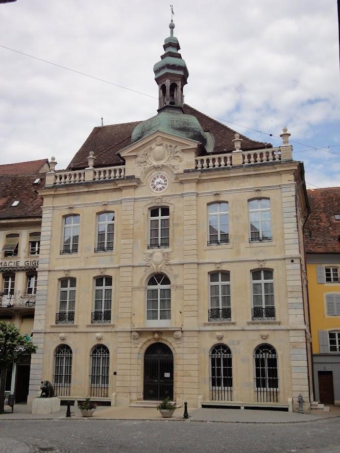Hôtel de ville à Porrentruy