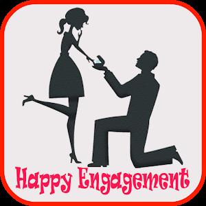engagement cards frames