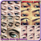 eyebrow make up tutorials
