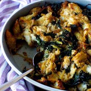 Kale and Caramelized Onion Stuffing.