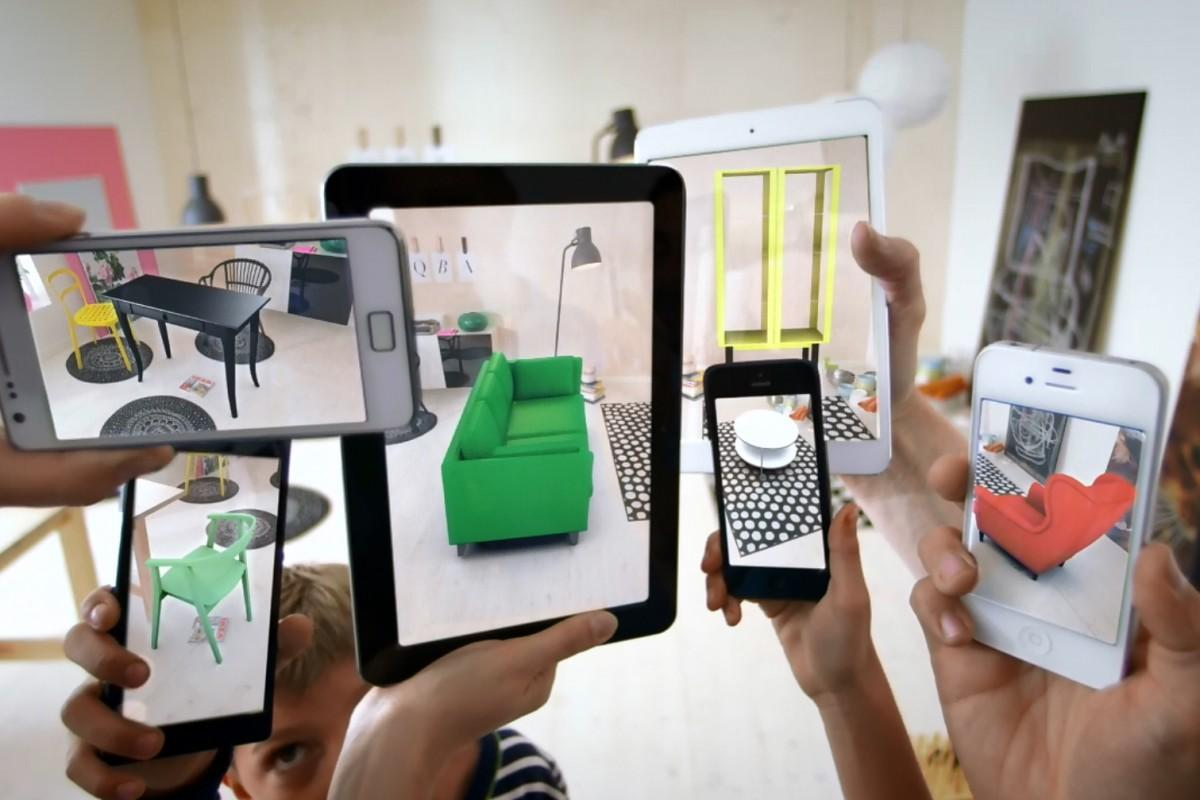 Image result for ikea ar campaign 2013