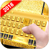 Golden Smart Keyboard with Emoji