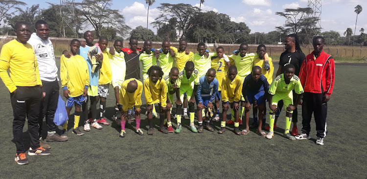 The Nairobi County Academy, after one of their training sessions