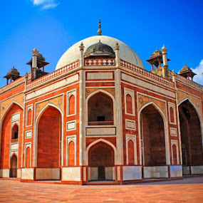Humayun tomb, South Delhi, Delhi by Prasanna Natarajan - Buildings & Architecture Public & Historical