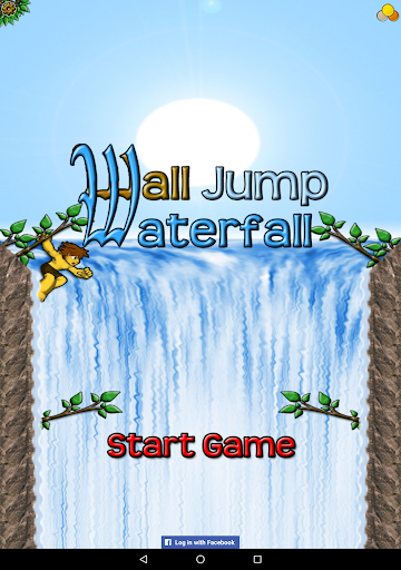 Wall Jump Waterfall Free Screenshot
