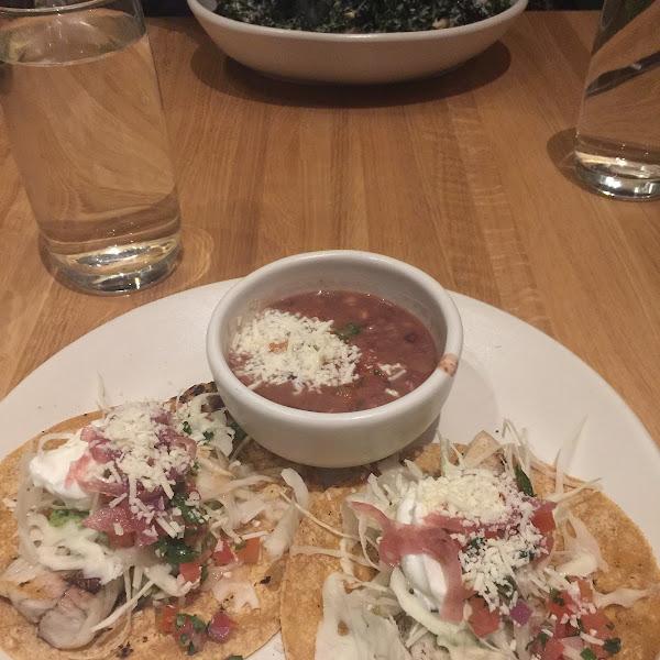 Gluten Free Fish Taco's