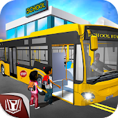 City School Bus Driving 2017: Parking Simulator 🚌