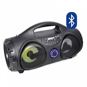 Boxa cu telecomanda, 40W PMPO, Radio, Bluetooth, AUX, USB