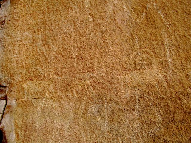 Petroglyphs off UT-12
