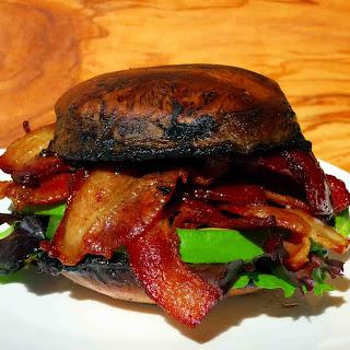 UPC's Portobello Bacon Avocado Breakfast Sandwich.