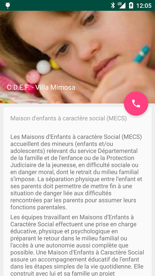 Assistant Action-Sociale – Capture d'écran