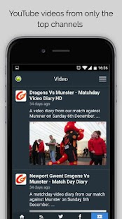 Dragons Rugby Sport RightNow- screenshot thumbnail