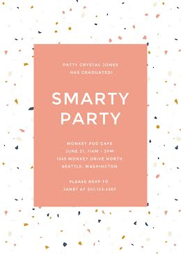 Smarty Party - Graduation Card item
