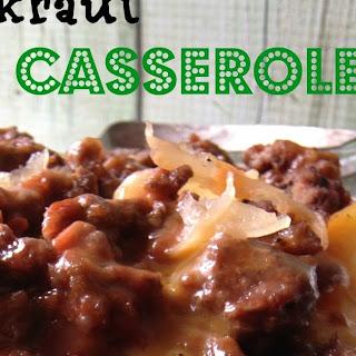Sauerkraut Casserole Recipe
