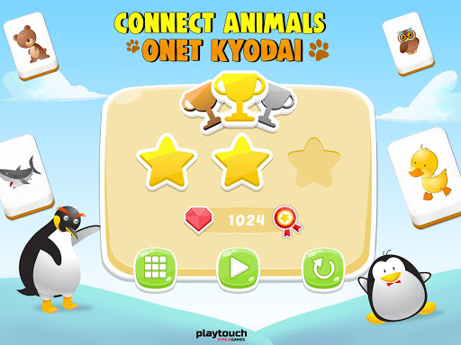 Connect Animals : Onet Kyodai (puzzle tiles game) 3 screenshots 15