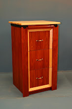 Photo: Suspension Filing Cabinet Syd Blue Gum, Silver Ash Annette Knoblanche