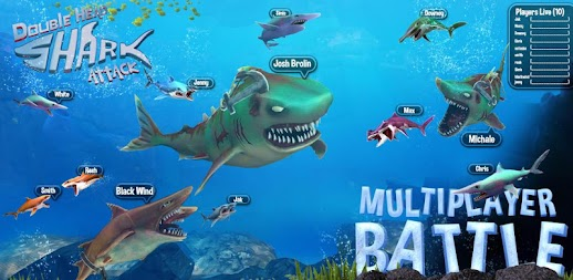 Double Head Shark Attack - Multiplayer APK