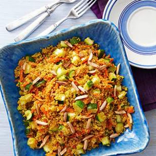 Curried Zucchini & Couscous.